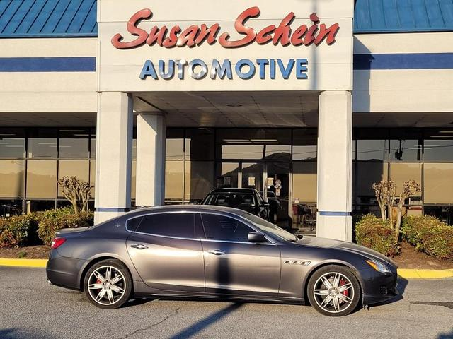 used 2016 Maserati Quattroporte car, priced at $35,999
