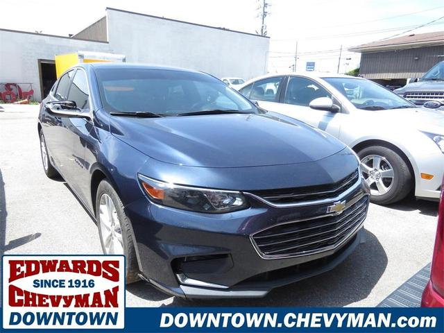 used 2017 Chevrolet Malibu car, priced at $17,848