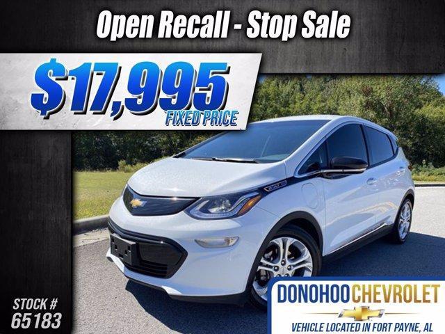 used 2017 Chevrolet Bolt EV car, priced at $17,995
