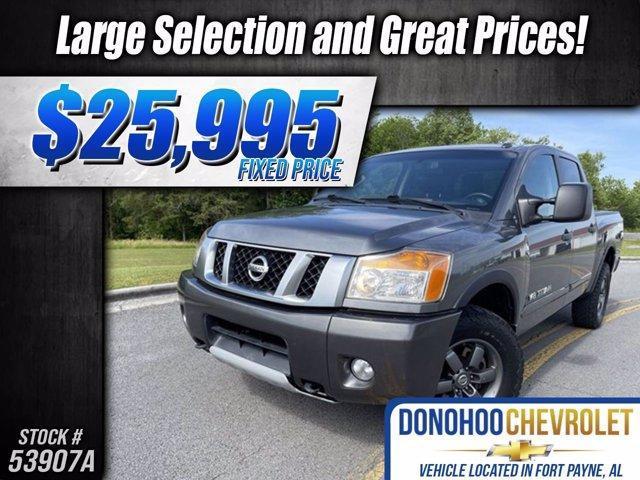 used 2015 Nissan Titan car, priced at $25,995