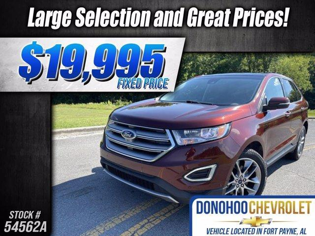 used 2015 Ford Edge car, priced at $19,995