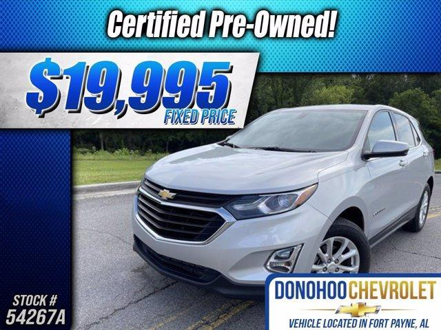 used 2018 Chevrolet Equinox car, priced at $19,995