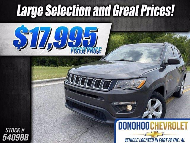 used 2017 Jeep Compass car, priced at $17,995