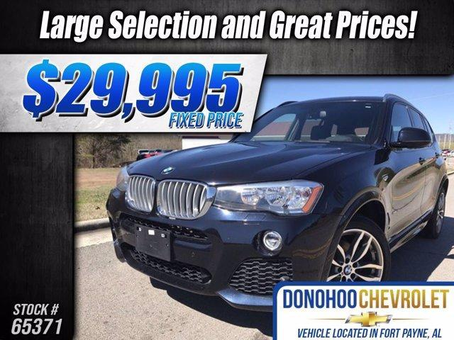 used 2017 BMW X3 car, priced at $29,995