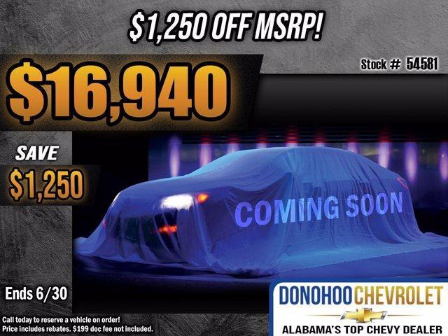 new 2021 Chevrolet Spark car, priced at $18,190
