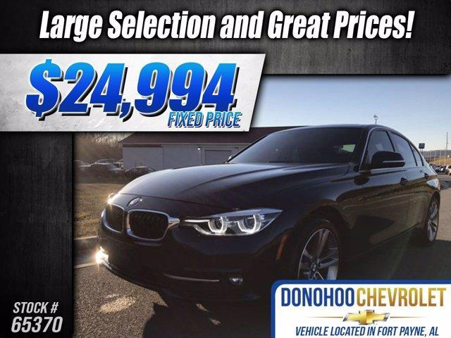 used 2017 BMW 330 car, priced at $24,994