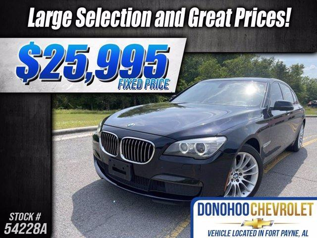 used 2015 BMW 740 car, priced at $25,995