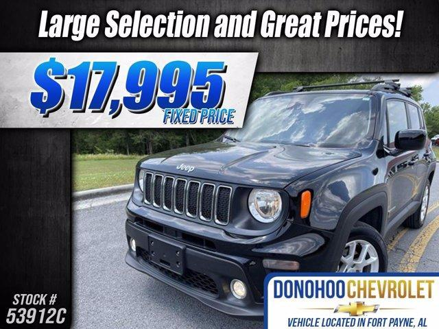 used 2019 Jeep Renegade car, priced at $17,995