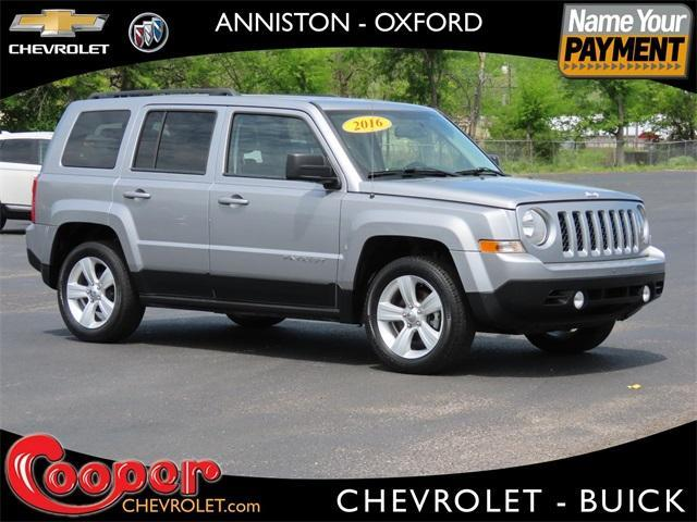 used 2016 Jeep Patriot car, priced at $13,294