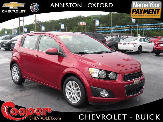 used 2015 Chevrolet Sonic car, priced at $10,194