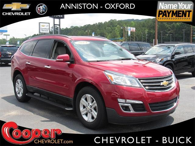 used 2014 Chevrolet Traverse car, priced at $17,845