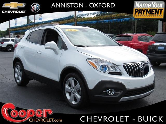 used 2016 Buick Encore car, priced at $17,400