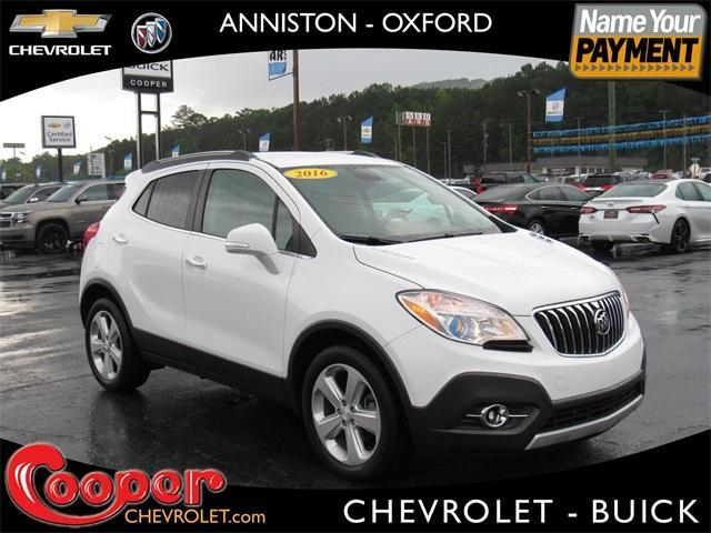 used 2016 Buick Encore car, priced at $15,850