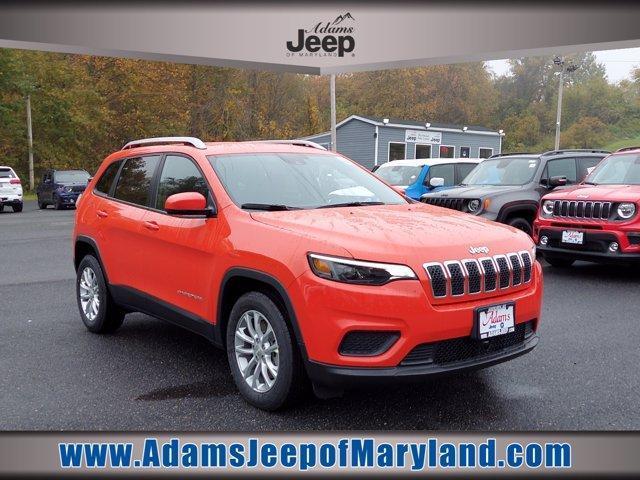 new 2021 Jeep Cherokee car, priced at $21,533