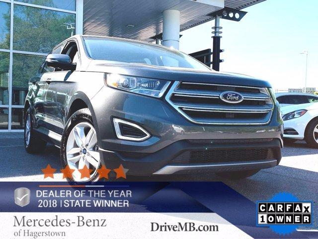 used 2018 Ford Edge car, priced at $28,497