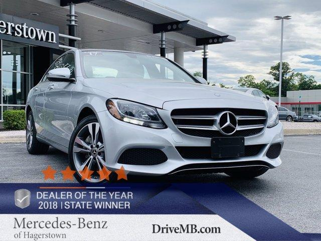 used 2017 Mercedes-Benz C-Class car, priced at $31,999