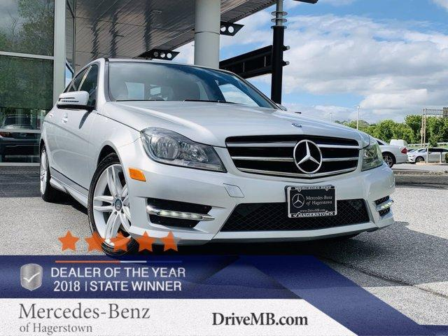 used 2014 Mercedes-Benz C-Class car, priced at $20,993