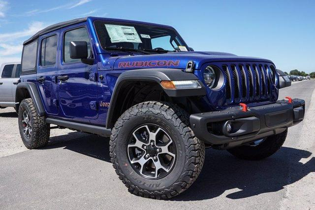 new 2020 Jeep Wrangler Unlimited car, priced at $52,235