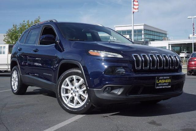 used 2016 Jeep Cherokee car, priced at $14,988