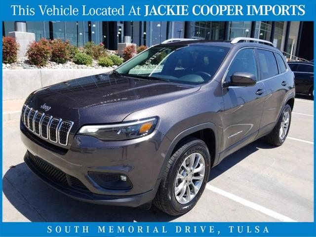used 2019 Jeep Cherokee car, priced at $27,500