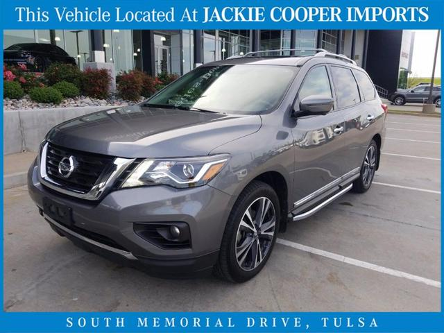 used 2018 Nissan Pathfinder car, priced at $31,500