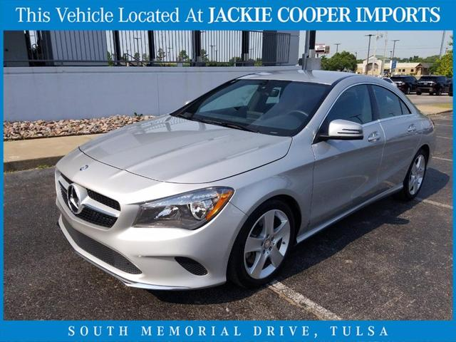 used 2017 Mercedes-Benz CLA 250 car, priced at $28,200