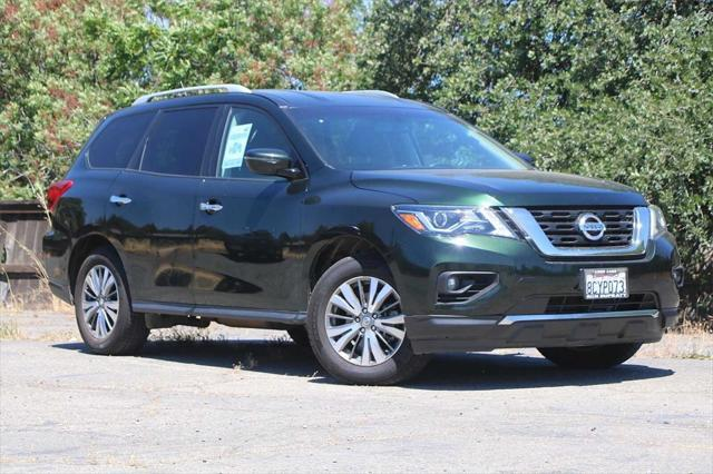 used 2018 Nissan Pathfinder car, priced at $22,987