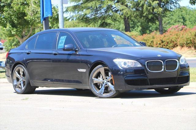 used 2012 BMW 750 car, priced at $19,899