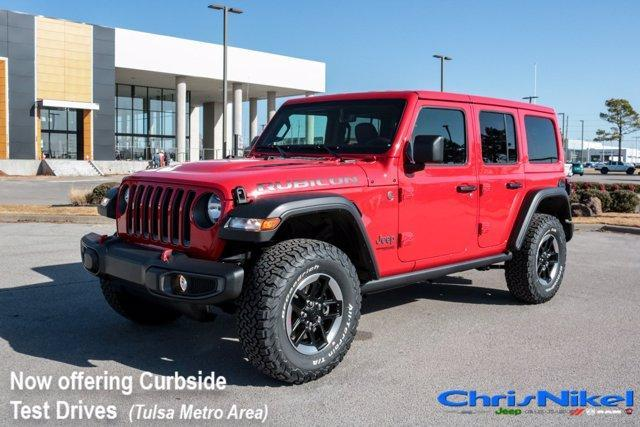 new 2021 Jeep Wrangler Unlimited car, priced at $55,690