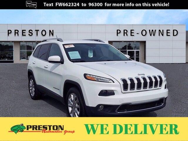 used 2015 Jeep Cherokee car, priced at $14,000