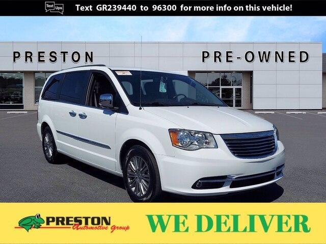 used 2016 Chrysler Town & Country car, priced at $15,000