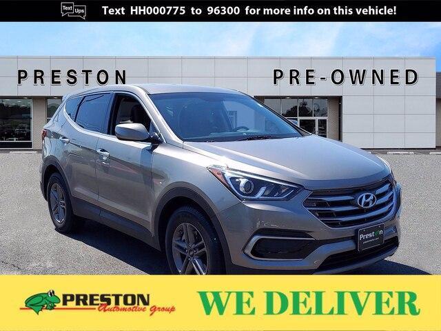 used 2017 Hyundai Santa Fe Sport car, priced at $17,800