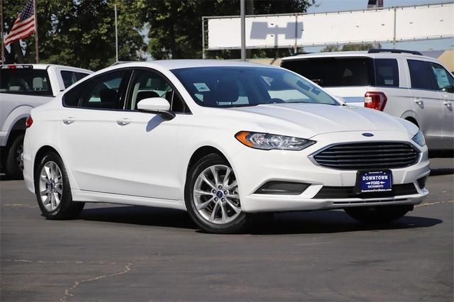 used 2017 Ford Fusion car, priced at $18,266
