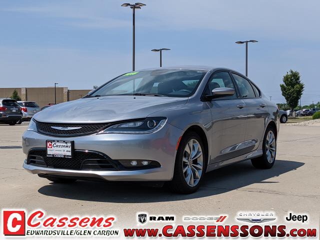 used 2015 Chrysler 200 car, priced at $14,500