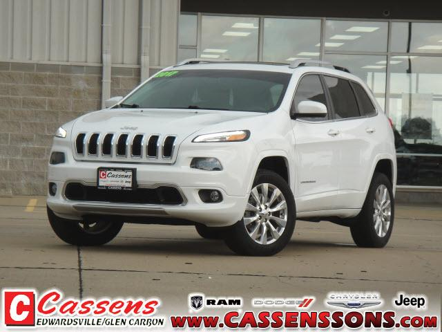 used 2017 Jeep Cherokee car, priced at $24,750