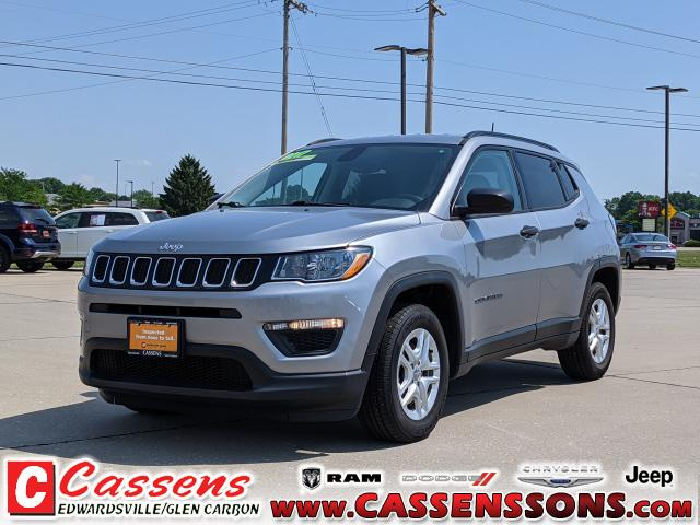 used 2017 Jeep Compass car, priced at $18,500