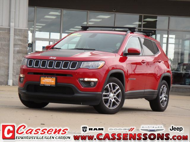 used 2020 Jeep Compass car, priced at $25,000