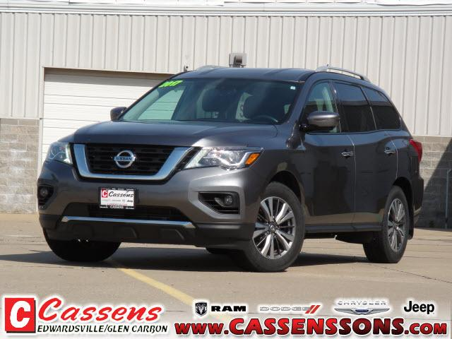 used 2017 Nissan Pathfinder car, priced at $21,476
