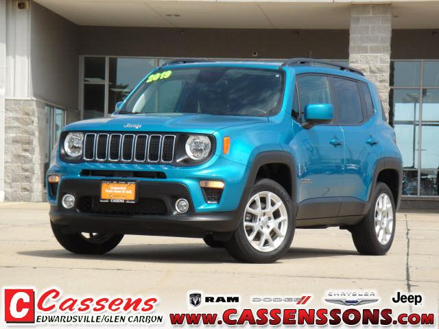 used 2019 Jeep Renegade car, priced at $23,450