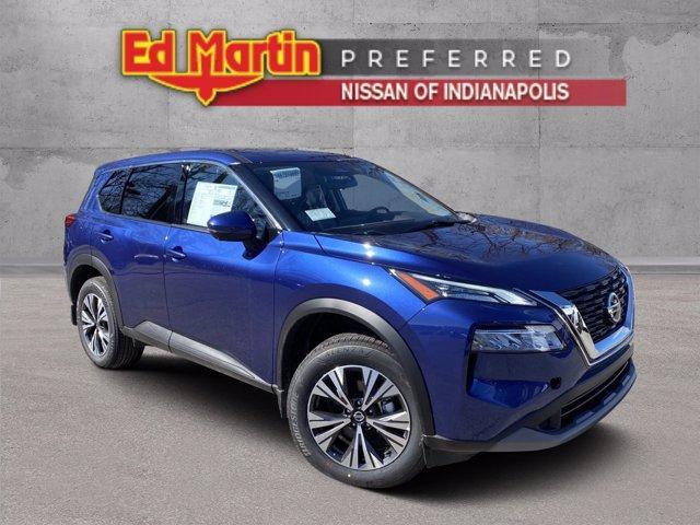 new 2021 Nissan Rogue car, priced at $28,418