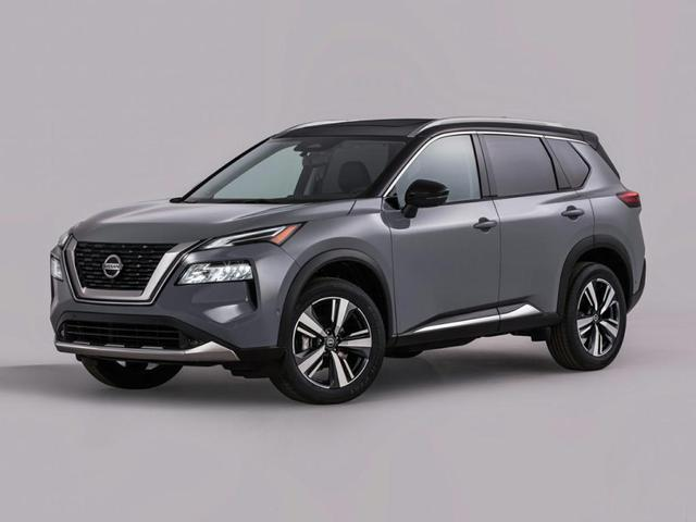 new 2021 Nissan Rogue car, priced at $27,578