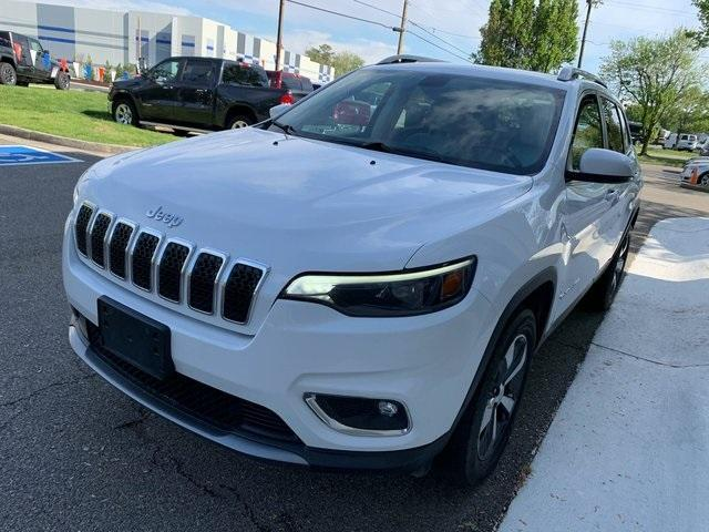 used 2019 Jeep Cherokee car, priced at $25,790