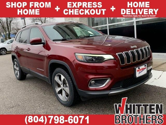used 2020 Jeep Cherokee car, priced at $26,000
