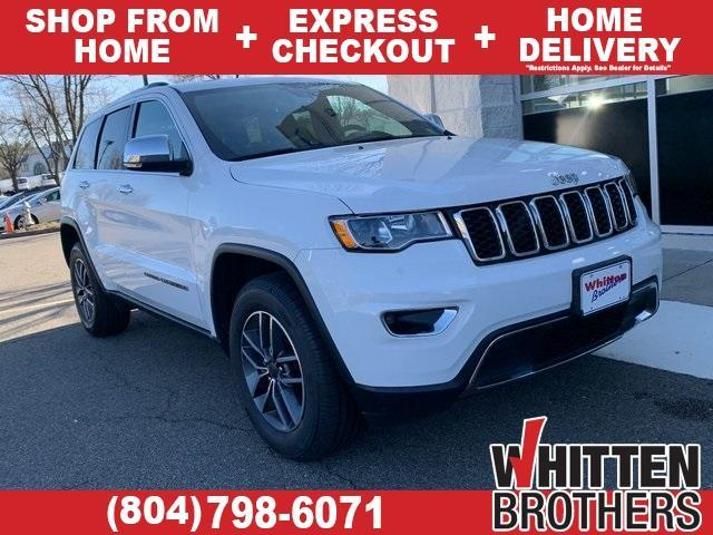 used 2020 Jeep Grand Cherokee car, priced at $35,490
