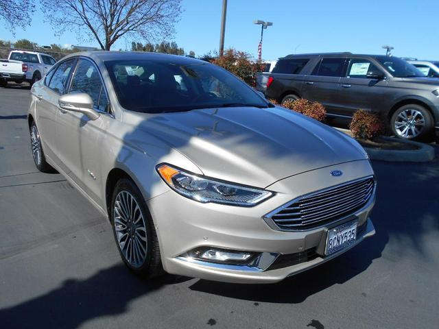 used 2017 Ford Fusion Energi car, priced at $20,995