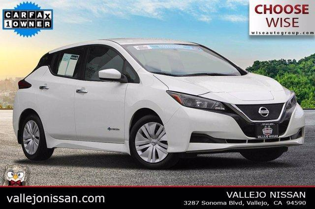 used 2019 Nissan Leaf car, priced at $17,990