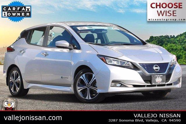 used 2019 Nissan Leaf car, priced at $20,990
