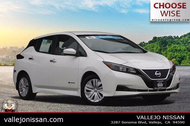 used 2019 Nissan Leaf car, priced at $18,890