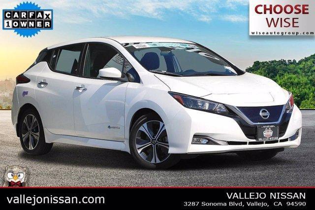 used 2019 Nissan Leaf car, priced at $20,390