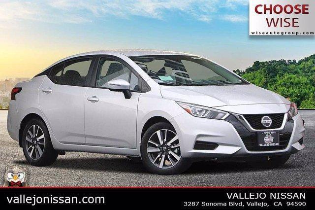 new 2021 Nissan Versa car, priced at $19,125